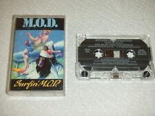 NM 1st Press 1988 Method Of Destruction Surfin MOD Cassette Megaforce TESTED