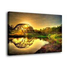 """A big tree Paintings HD Print on Canvas Home Decor Wall Art Pictures 16""""x24"""""""