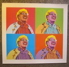 """EDDIE MURPHY-""""GRANNY KLUMP"""" NUTTY PROFESSOR II-2000 WARHOL SPOOF 23""""x21"""" POSTER!"""