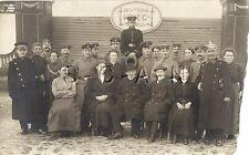 WWI German RPPC- Soldier- Uniform- Deutsche Krieg Ausstellung- Pickelhaube- Frau