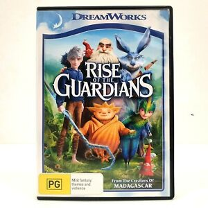 Rise Of The Guardians (DVD, Region 4, 2012)
