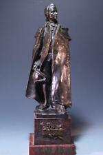 Bronze Figure of Mozart.