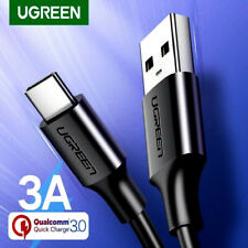 Ugreen Quick Fast Charge 3.0 A USB Type C Charger Cable For Redmi Samsung Huawei