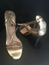 NIB CHINESE LAUNDRY LEO Gold Sandals  - Size 8