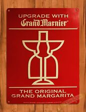 "TIN SIGN ""Grand Marnier"" Liquor Advertising Bar Wall Decor"