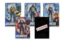G.I. Joe Classified Series Wave 1 Set of 5 Figures Presale Snake Eyes