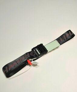 OFF-WHITE unisex belt black