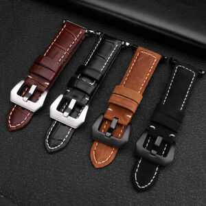 Men's Women's 38mm/42mm Genuine Leather iWatch Watch Strap Band for Apple Watch
