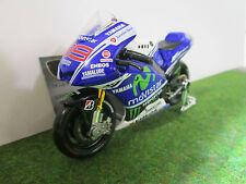 YAMAHA FACTORY RACING #99 MOVISTAR 1/18 MAISTO 34057 moto miniature d collection