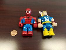 Mega Bloks Marvel Super Heroes Replacement Figures - THOR and SPIDERMAN
