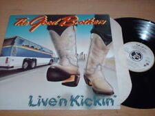 The Good Brothers - Live N Kickin - LP Record  EX EX