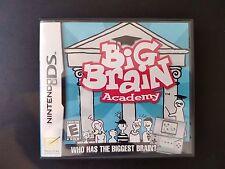 BIG BRAIN ACADEMY - Nintendo NDS - NTSC (US - CANADA) - MINT & COMPLETE