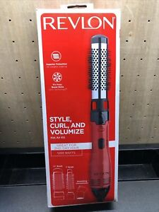 REVLON  RV440RED  Hot Air Brush Kit for Styling & Frizz Control NEW BS1