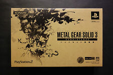 METAL GEAR SOLID 3 SUBSISTENCE PREMIUM PACKAGE PlayStation 2 PS2 Japan