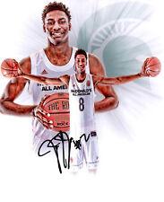 Jaren Jackson Jr Michigan State Spartans hand autographed signed 8x10 photo c