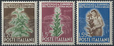 1950 Italia Repubblica Tabacco 3v. SL (MNH) Cat. Sass. 629/31 € 120,00