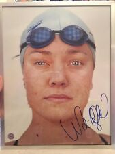 USA Swimming ~ Magazine Pic Autographed by Natalie Coughlin ~ Martin Schoeller