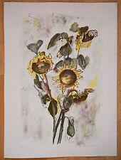 Mevel-Roussel - litho Signée numérotée/50 Artprice Benezit musées fleurs