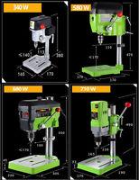 Mini Drill Press Bench 340W 580W 680W 710W Cross Worktable Flat Drill Press Vise