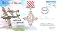 BB13 WWII Battle of Britain Hurricane FDC signed WW2 BoB pilot BILL GREEN
