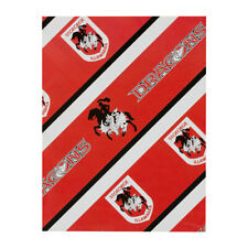 St George Dragons NRL Wrapping Paper Giftwrap