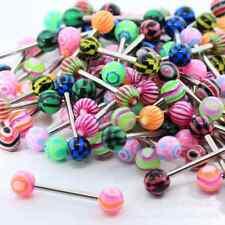 Wholesale 10x PREMIUM Tounge Nipple Ear Rings BARS BARBELL BODY PIERCING JEWELRY
