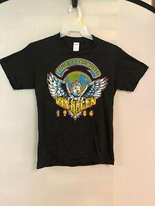 Original Vintage Van Halen Tour Of The World 1984 Single Stitch Size L T-Shirt