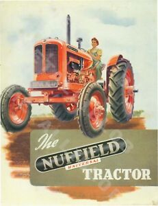 Nuffield Universal Tractor Advertising - Poster (A3)