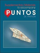 Puntos de Partida: Supplementary Materials to Accompany by Foerster, Sharon
