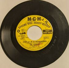 """The Animals – Don't Let Me Be Misunderstood/Club A-Gogo PROMO 7"""" 45 1964 MGM"""