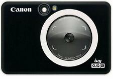 CANON IVY CLIQ 2 INSTANT CAMERA - BLACK - NEW IN BOX