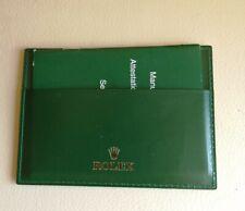 PORTA GARANZIA CARD ORIGINALE ROLEX  CODE 4119209.34