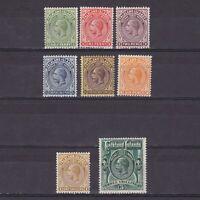 FALKLAND ISLANDS 1921, SG# 73-80, CV £150, MH