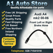 Audi A4 mk2 00-06 Incl Avant & Cabrio Front Left or Right Brake Hose