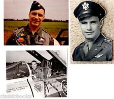 Raymond F. Toliver Signed  Photos  WWII Aviation