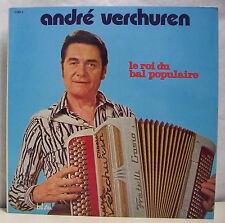 """2 x 33T André VERCHUREN Disques LP 12"""" ROI DU BAL POPULAIRE Musette BEL AIR COD4"""