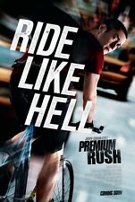 Premium Rush - original DS movie poster -  27X40 D/S Cycling , Levitt