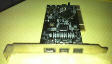 StarTech PCI1394B3 2-Port FireWire 800 +1-Port FireWire 400 PCI Card PCI-1394B-3