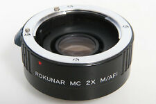 Rokunar MC 2X Teleconverter For Minolta AF