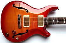 PRS McCarty Hollowbody II 10 Top Electric Guitar 1999 USA Bird Inlays w/OHSC