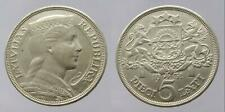 More details for latvia, silver 5 lats, 1931, gvf