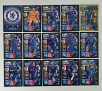 2019/20 Match Attax UEFA Soccer Cards - Chelsea Team Set (15 cards)