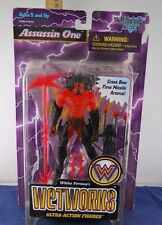 MCFARLANE TOYS 1996: WETWORKS SERIES 2 ASSASSIN ONE (RED) ACTION FIGURE