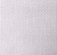 14-Count Aida White Cross Stitch Cloth, Choose Your Size, Bulk Aida Cloth