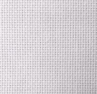 14-Count Aida White Cross Stitch Cloth, Choose Your Size, Bulk Cotton Aida Cloth