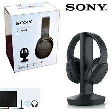 New Sony RF400 Wireless Home Theater Wireless Over-the-Ear Headphones for TV.