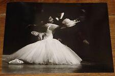 MARGOT FONTEYN RUDOLF NUREYEV NEWSPAPER PRESS PHOTO PHOTOGRAPH 7 WITH STAMPS