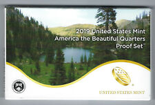 USA: America the Beautiful Quarters Proof Set 2019