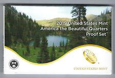 USA: America the Beautiful Quarters Proof Set 2019
