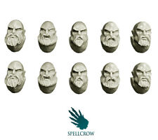 Space Knights Heads with Beards  - Spellcrow